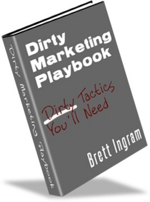 Product picture Dirty-Marketing Playbook, money making from your website